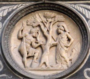 Palazzo_medici_riccardo,_cortile_di_michelozzo,_tondi_di_bertoldo_di_giovanni_da_cammei_medicei_06,1